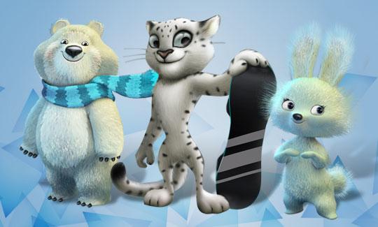 Sochi 2014 Mascots
